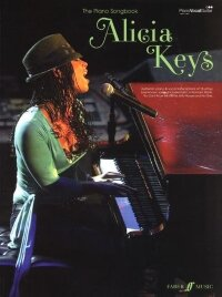 ALICIA KEYS THE PIANO SONGBOOK PVG