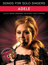 AM1004520 - SONGS FOR SOLO SINGERS ADELE BOOK AND CD