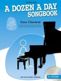 A Dozen A Day Songbook: Easy Classical - Book One
