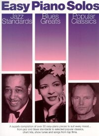 AM967901 - EASY PIANO SOLOS JAZZ STANDARDS BLUES GREATS POPULAR CLASSICS...