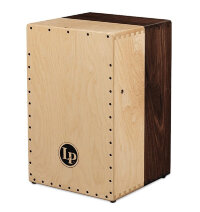 Latin Percussion LP1422 Americana Solid Walnut/Maple 2-Voice Cajon Кахон