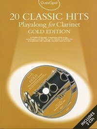 GUEST SPOT 20 CLASSIC HITS PLAYALONG FOR CLARINET GOLD ED CLT BOOK/CD