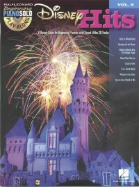 Beginning Piano Solo Play-Along Volume 6: Disney Hits