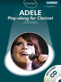 GUEST SPOT ADELE PLAYALONG FOR CLARINET CLT BOOK/CD