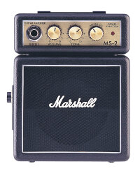 MARSHALL MS-2 MICRO AMP (BLACK) микрокомбо, 1 Вт
