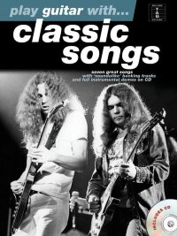 PLAY GUITAR WITH CLASSIC SONGS GTR TAB BOOK/CD