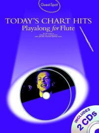 GUEST SPOT TODAY'S CHART HITS PLAYALONG FOR FLUTE FLT BOOK/2CDS