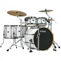 TAMA MK62HZBNS-SGW SUPERSTAR HYPER-DRIVE MAPLE SUGAR WHITE ударная установка из 6 барабанов, цвет белый