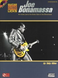 BONAMASSA JOE GUITAR LEGENDARY LICKS GTR TAB BK/CD