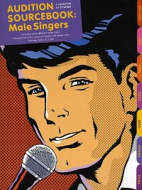 AUDITION SOURCEBOOK FOR MALE SINGERS PIANO VOCAL GUITAR BOOK/2CDS
