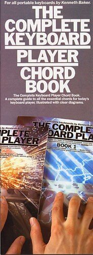 THE COMPLETE KEYBOARD PLAYER CHORD BOOK KBD BK