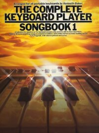 THE COMPLETE KEYBOARD PLAYER SONGBOOK 1 MELODY LYRICS CHORDS BOOK