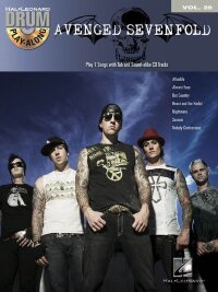 DRUM PLAY ALONG VOLUME 28 AVENGED SEVENFOLD DRUMS BK/CD