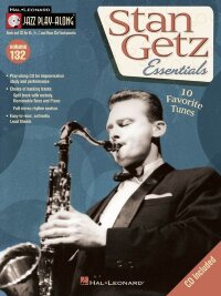 JAZZ PLAY ALONG VOLUME 132 GETZ STAN ALL INSTRUMENTS BK/CD