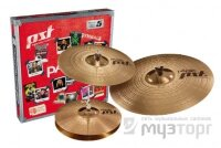 PAISTE PST 5 N ROCK SET набор тарелок (Hi-hat 14', Crash 16', Ride 20')