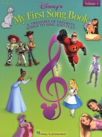 HL00316160 - DISNEY'S MY FIRST SONGBOOK VOLUME 4 EASY PIANO SONGBOOK...