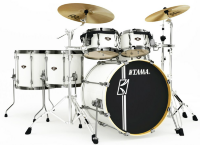 TAMA MK52HLZBNS-SGW SUPERSTAR HYPER-DRIVE MAPLE SUGAR WHITE ударная установка из 5-ти барабанов, цвет белый