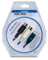ALESIS USB-Midi Cable (два DIN5 -> USB)