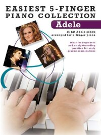 Easiest 5-Finger Piano Collection: Adele