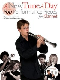 A NEW TUNE A DAY POP PERFORMANCE PIECES CLARINET BOOK AND CD