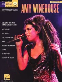 Pro Vocal Women's Edition Volume 55: Amy Winehouse