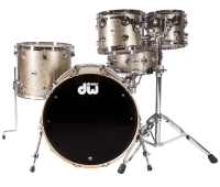 DW Collector Finish Ply Nickel Sparkle Ударная установка 14/10/12/16/22