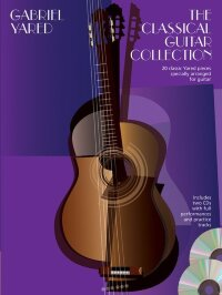 YARED GABRIEL CLASSICAL GUITAR COLLECTION FOR GUITAR TAB BOOK/2CD