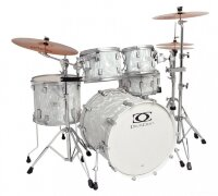 Drumcraft Series 7 Progressive Maple Liguid Chrome Satin Chrome HW барабанная установка