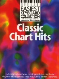 EASIEST KEYBOARD COLLECTION CLASSIC CHART HITS KBD BOOK
