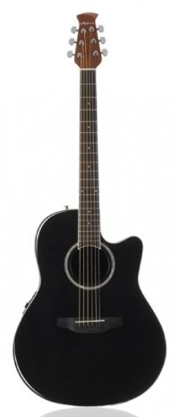 APPLAUSE AB24II-5 Balladeer Mid Cutaway Black электроакустическая гитара