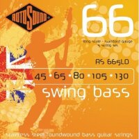 ROTOSOUND RS665LD BASS STRINGS STAINLESS STEEL струны для 5-струнной басгитары, сталь, 45-130