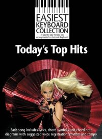 EASIEST KEYBOARD COLLECTION TODAY'S TOP HITS EKC