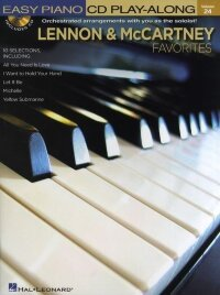 Easy Piano CD Play-Along Volume 24: Lennon And McCartney Favourites