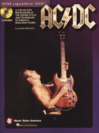 AC/DC GUITAR SIGNATURE LICKS GUITAR STYLES TECHNIQUES BK/CD