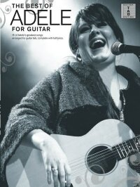 ADELE BEST OF ADELE FOR GUITAR TABLATURE GTR TAB BOOK